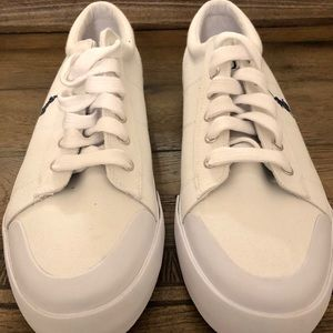 White polo shoes size 13 d